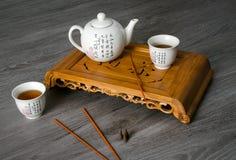 Aún-vida exótica del té Imagen de archivo libre de regalías