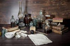 Aún vida farmacéutica Fotos de archivo
