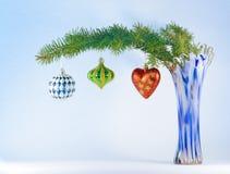 Aún vida festiva para la Navidad Imágenes de archivo libres de regalías