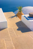 Aún-vida griega, Santorini Fotografía de archivo