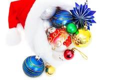Aún vida hermosa para la tarjeta por la Navidad y el Año Nuevo Imagenes de archivo