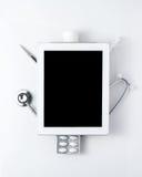 Aún-vida médica Fotografía de archivo libre de regalías