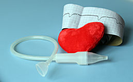 Aún vida médica con la información paciente de la salud, cardiograma, corazón Imagen de archivo