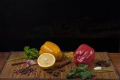 Aún vida magnífica de verduras Imágenes de archivo libres de regalías