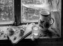 Aún vida rústica con la jarra Foto de archivo