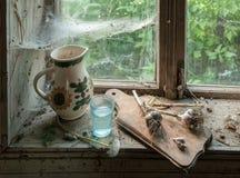 Aún vida rústica con la jarra Imagen de archivo