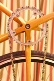 Aún-vida retra de la bicicleta Imágenes de archivo libres de regalías