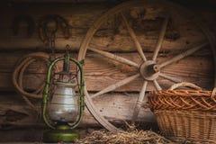 Aún vida retra rural Imagen de archivo