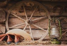 Aún vida retra rural Fotografía de archivo