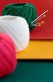 Aún-vida roja, verde, amarilla Imágenes de archivo libres de regalías