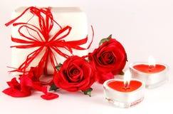 Aún-vida romántica Foto de archivo libre de regalías