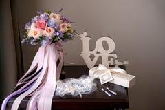Aún vida romántica Imagen de archivo libre de regalías