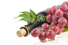 Aún-vida romántica del vino Fotos de archivo libres de regalías