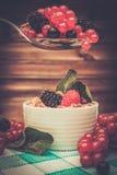 Aún-vida sana del desayuno Imagen de archivo