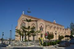 Ażio Dionysos kościół Zdjęcie Stock