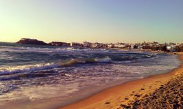 Ażio George plaża Zdjęcia Royalty Free