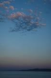 Ażio Georgios, wyspa - pokojowa scena - Lihada, Evia - zdjęcia stock
