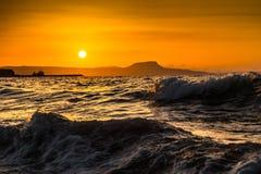 A Beautiful Beach On A Greek Island In Summer Royalty Free Stock Photo
