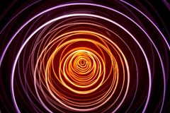 Free A Beautiful, Bright Light Swirl Of Colors. Futuristic Light Painting On A Black Background. Royalty Free Stock Image - 134778436