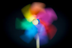 Free A Beautiful Colored Pinwheel Stock Image - 45712291