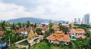 A Beautiful Temple In Penang,malaysia Royalty Free Stock Photography