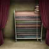 A Bed For Princesses Stock Images