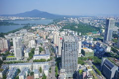 A Big City In China Royalty Free Stock Photography