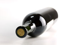 A Bottle Of Red Wine Royalty Free Stock Photo
