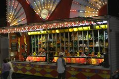 Free A Carnival Game Booth Stock Photography - 132891632