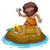 A Caveman Royalty Free Stock Images
