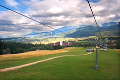 A Chair-lift Stock Photography