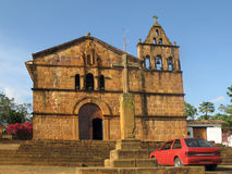 Free A Church In Barichara Royalty Free Stock Images - 5863579