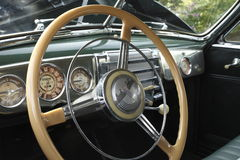 A Classic Steering Wheel Royalty Free Stock Photo