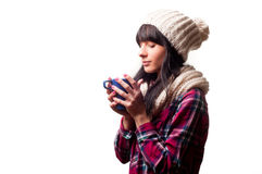 Free A Cold Woman Stock Photo - 36727140