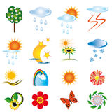 A Collection Of Natural Elements Stock Image