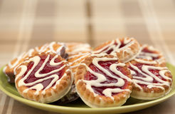 A Cookies With Jam Stock Images