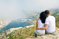A Couple In Love Royalty Free Stock Photos