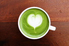 Free A Cup Of Green Tea Matcha Latte Royalty Free Stock Photos - 77106908