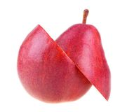 A Cutted Fresh Pear Royalty Free Stock Photos