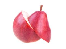 A Cutted Fresh Pear Royalty Free Stock Photo