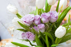 A Decorated Flower Bouquet Royalty Free Stock Images