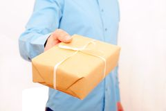 A Delivery For You Royalty Free Stock Images