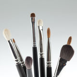A Detail Of A Make-up Brush Set Stock Images