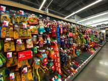 Free A Display Of Various Brands Of Dog Toys For Sale At A Petsmart Superstore Royalty Free Stock Image - 171042546
