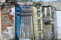 A Door To Nowhere Royalty Free Stock Images