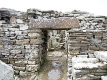 Free A Doorway And Stone Lintel In The Broch Of Gurness Royalty Free Stock Photos - 156230208