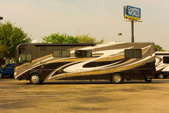 A Fancy Rv At Camping World, Fort Myers Royalty Free Stock Images