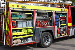 A Fire Engine. Stock Photography