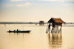 Free A Fishermans Sail His Boat Royalty Free Stock Image - 65029186