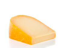 A Flat Piece Of Cheese Royalty Free Stock Photos